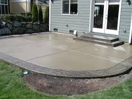 Backyard Concrete Ideas Best 25 Cement Patio Ideas On Pinterest Concrete Patios