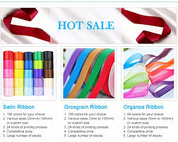 satin ribbon wholesale 100 polyester wholesale personalized faced satin ribbon