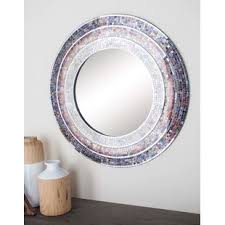 Mosaic Bathroom Mirror Mosaic Bathroom Mirror Wayfair