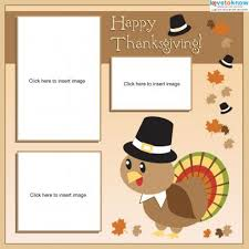 thanksgiving scrapbook pages lovetoknow