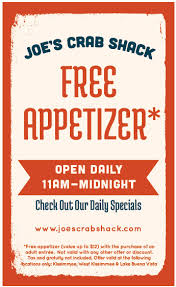 coupons for joe s crab shack joe s crab shack restaurant guide of osceola