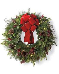 cyber monday savings on cheer cordless wreath with bow