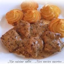 porc cuisine recette sauté de porc moutarde à l ancienne facile rapide