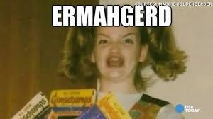 Ermagerd Meme - ermahgerd meet the woman behind the famous meme youtube