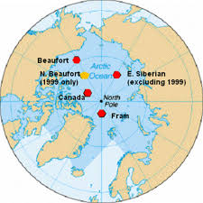 Arctic Map National Snow And Ice Data Center
