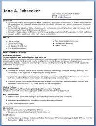 Med Tech Resume Sample by Emergency Medical Technician Resume Sample