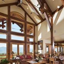timber frame great room lighting great room photo gallery log homes timber homes