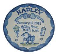 baby birth plates personalized baby carriage birth plate girl lwc 03g baby carriage birth