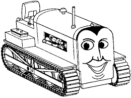 thomas train bulldozer coloring pages gif thomas train