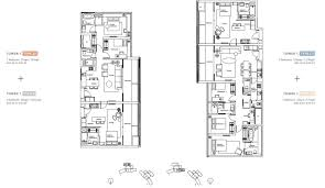 100 twin towers floor plans shenzhen twin towers podium