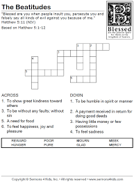 Sermons On Blind Bartimaeus The Happy Puppy Crossword Puzzle Children U0027s Sermons From