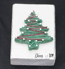 ornaments made with string for you tree