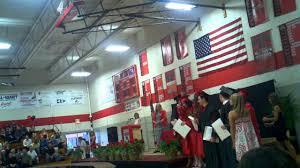Cardinal Flag Cardinal High Graduation 2011 Walking The Stage Youtube