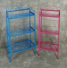 Wrought Iron Bakers Rack With Glass Shelves Wrought Iron Bakers Racks Wholesale