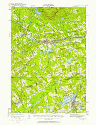 Washington State Topographic Map by All Old Maine Usgs Topos