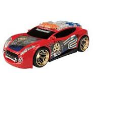 motorized car wheels hyper racer light and sound spin king target
