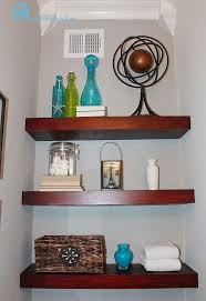 small bathroom shelves ideas building floating shelves in a small bathroom hometalk