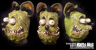 the collector halloween mask blood curdling blog of monster masks monster mask collection pics