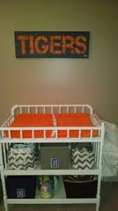 Detroit Tigers Crib Bedding Plain Bedding Set Purchased From Www Babybedding Carousel