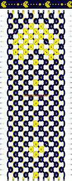 bracelet pattern images Normal friendship bracelet pattern 10679 gif