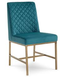 cambridge dining side chair teal furniture macy u0027s