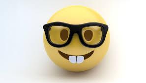 Furniture Emoji 3d Asset Emoji Nerd Cgtrader