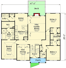 split level house plan 3 bed split level house plan 75430gb architectural designs