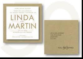 50th Wedding Anniversary Invitation Cards Invitations For Formal Occasions Weddings Barmitzvahs