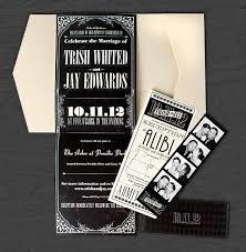 Movie Ticket Wedding Invitations Czar Creative Invitation Design