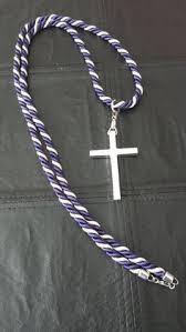 clergy cords custom blue white clergy cords