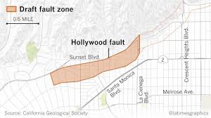 Us Times Zone Map by Earthquake Fault Maps For Beverly Hills Santa Monica And Other