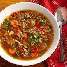 lentil soup with beef family circle