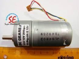 Jual Dc gearbox motor dc torsi 10kg 295rpm jual aneka dc motor