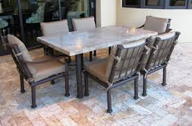 Travertine Dining Table Umbrella For Outdoor Table Gccourt House