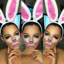 Halloween Costumes Bunny Rabbits 25 Bunny Makeup Ideas Deer Face Paint Bunny