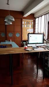 Ikea Hack Office Desk Diy Ikea Hack Children U0027s Lack Desk And Standing Office Desk