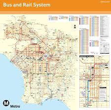 San Diego Public Transportation Map by Los Angeles Maps California U S Maps Of L A Los Angeles