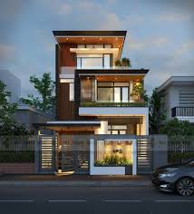 Best  House Elevation Ideas On Pinterest Villa Plan Villa - Front home design
