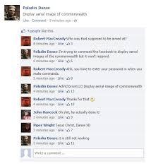 Fallout Kink Meme - fallout 4 companions on social media