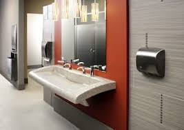 today u0027s commercial restroom design trends speak to user wants and