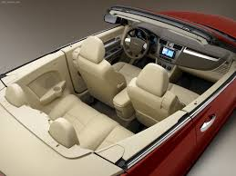 luxury cars inside chrysler sebring convertible 2008 pictures information u0026 specs