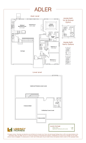 adler floor plan legacy homes omaha and lincoln