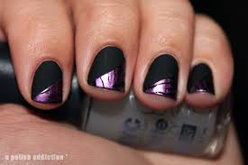 nail arts cute black nail polish art designs black nail polish