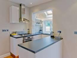 U Shaped Small Kitchen Designs Small White U Shaped Kitchen Zach Hooper Photo U Shaped