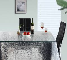 Dinner Table Protector by Amazon Com Ufriday Clear Tablecloth For Rectangle Table