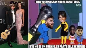 Memes De Lionel Messi - los memes del premio the best el mariachi dani alves y lionel