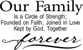 quote about love myself vinyl ready quote our family is a circle of love digital file