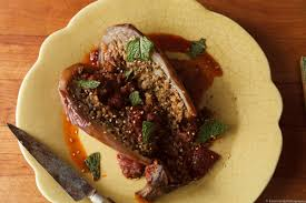 stuffed eggplant with farro ginger and pomegranate the garum