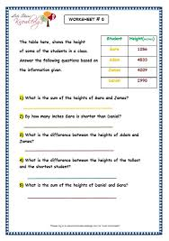 grade 3 maths worksheets subtraction 4 4 addition and