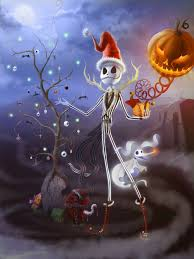 merry christmas from the halloween town by setkira on deviantart